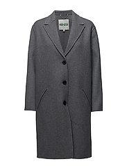 Coat Main - PALE GREY