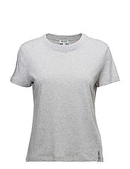 Knitted T-shirt Main - PALE GREY