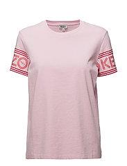 Knitted T-shirt Main - FLAMINGO PINK
