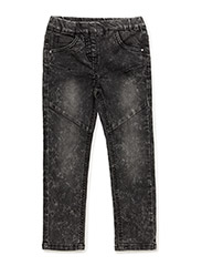 JENA DENIM PANTS - OCEAN WASH BLACK