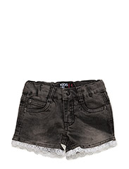 SNAIL DENIM SHORTS - OCEAN WASH BLACK