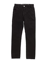 BALE TWILL PANTS - BLACK