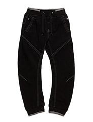 JETON TWILL PANTS - BLACK