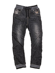 JETON DENIM PANTS - USED BLACK