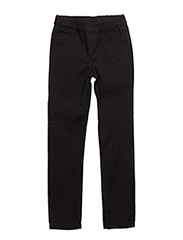 JENA TWILL PANTS - BLACK