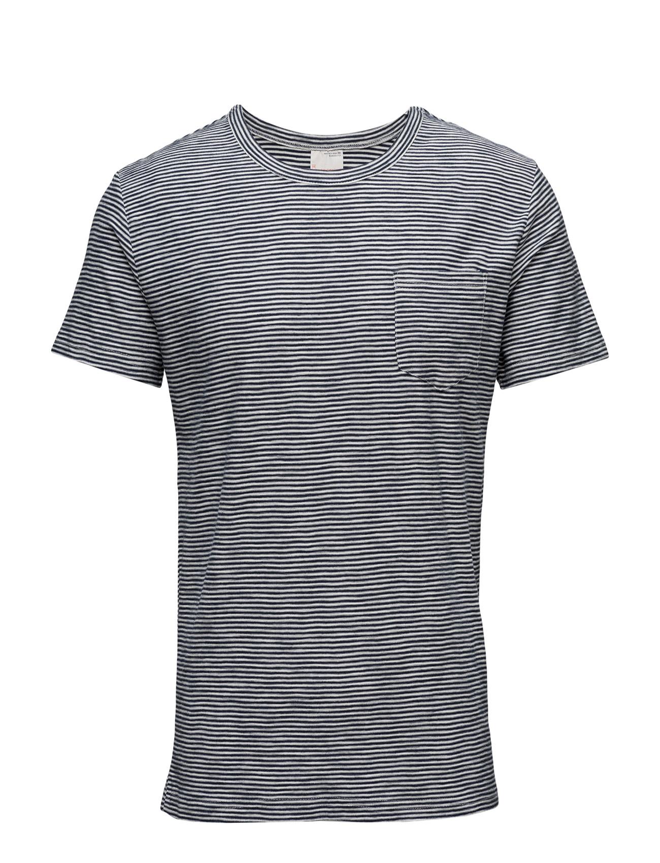 Reverse Striped Tee - Gots Knowledge Cotton Apparel Kortærmede til Mænd i