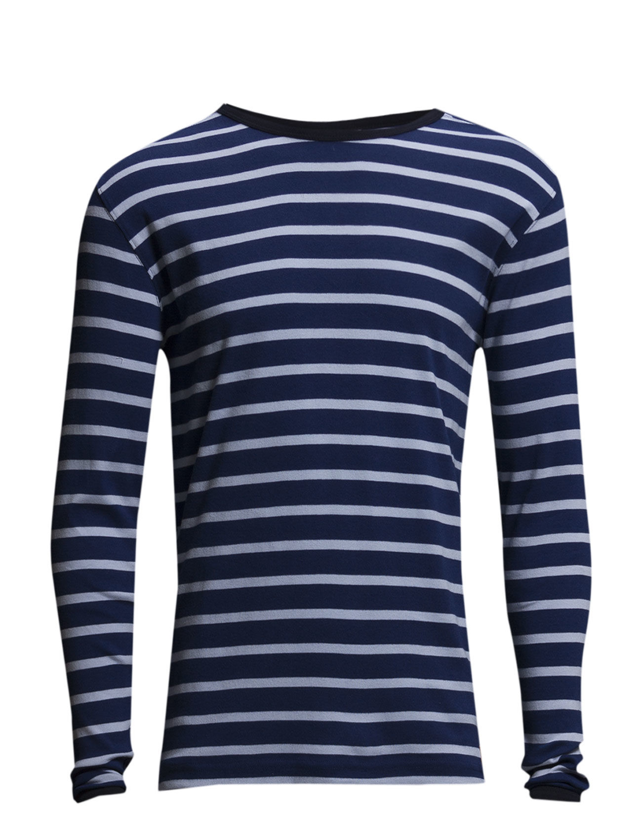 1x1 Rib Striped Long Sleeve