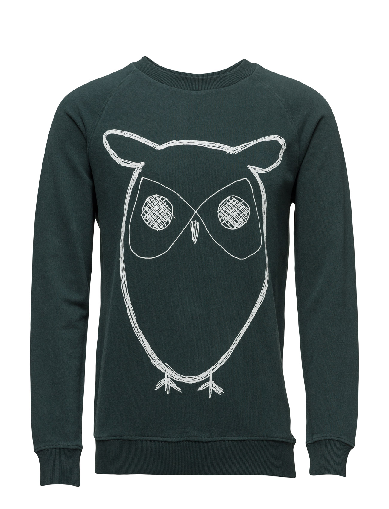 Sweat Shirt With Owl Print - Gots Knowledge Cotton Apparel Sweat pants til Herrer i Grønnebakken