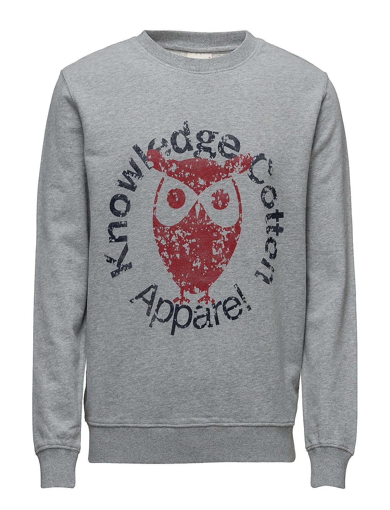 Sweat W/ Owl Print - Gots Knowledge Cotton Apparel Sweat Byxor