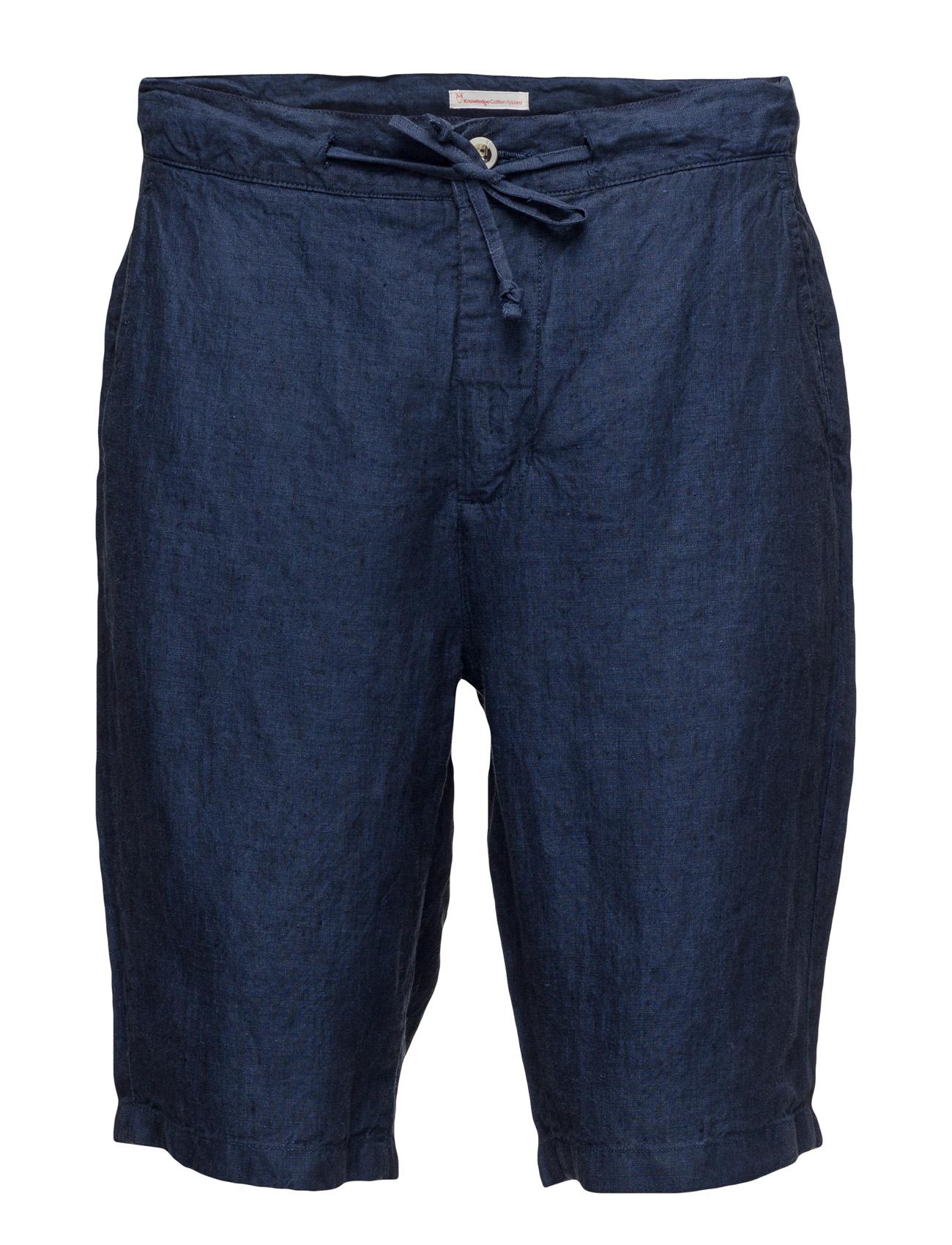 Loose Yarn Dyed Linen Shorts thumbnail