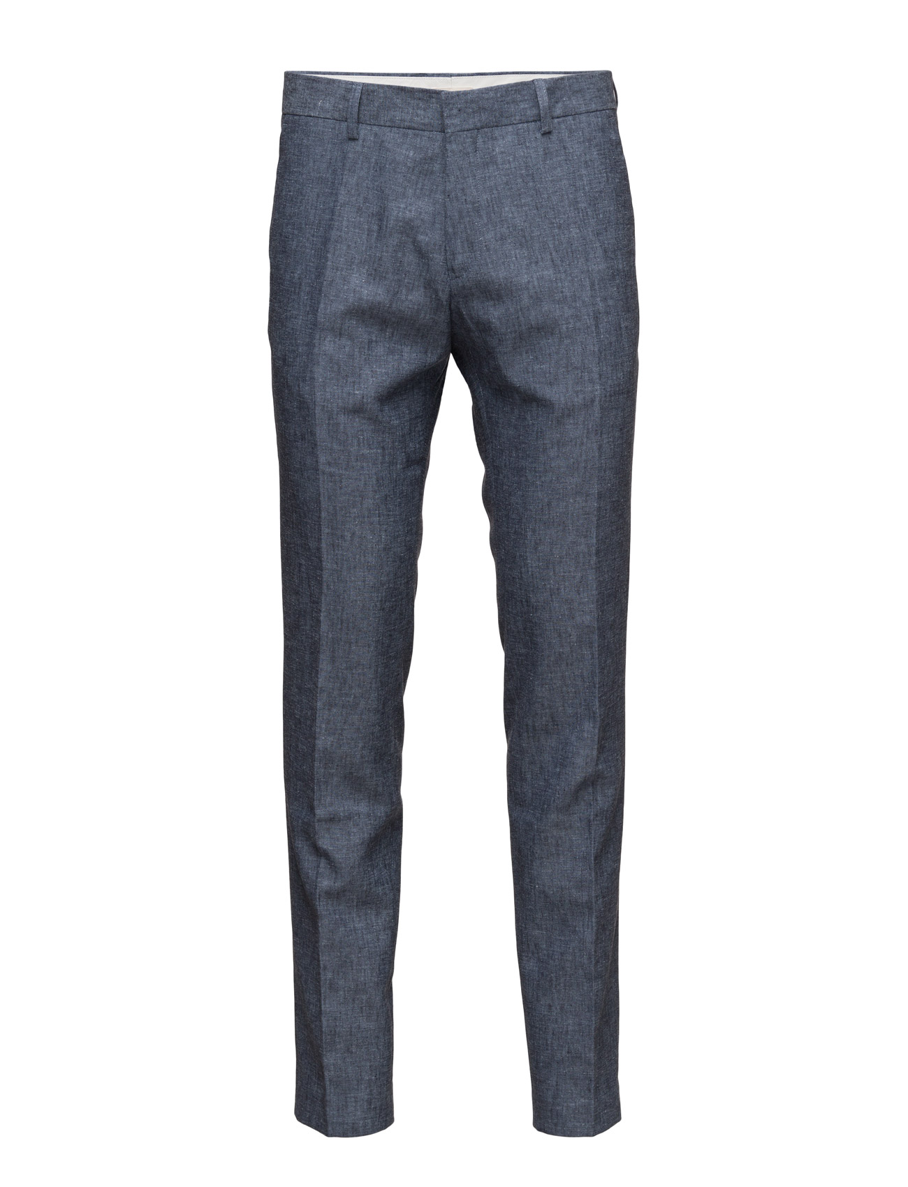 Linen Pant Knowledge Cotton Apparel Chinos til Mænd i Total Eclipse