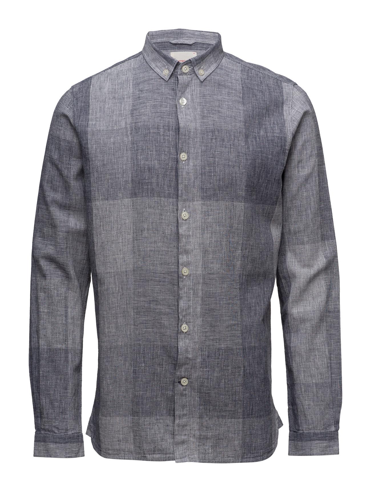 Big Check Shirt - Gots Knowledge Cotton Apparel Casual sko til Mænd i