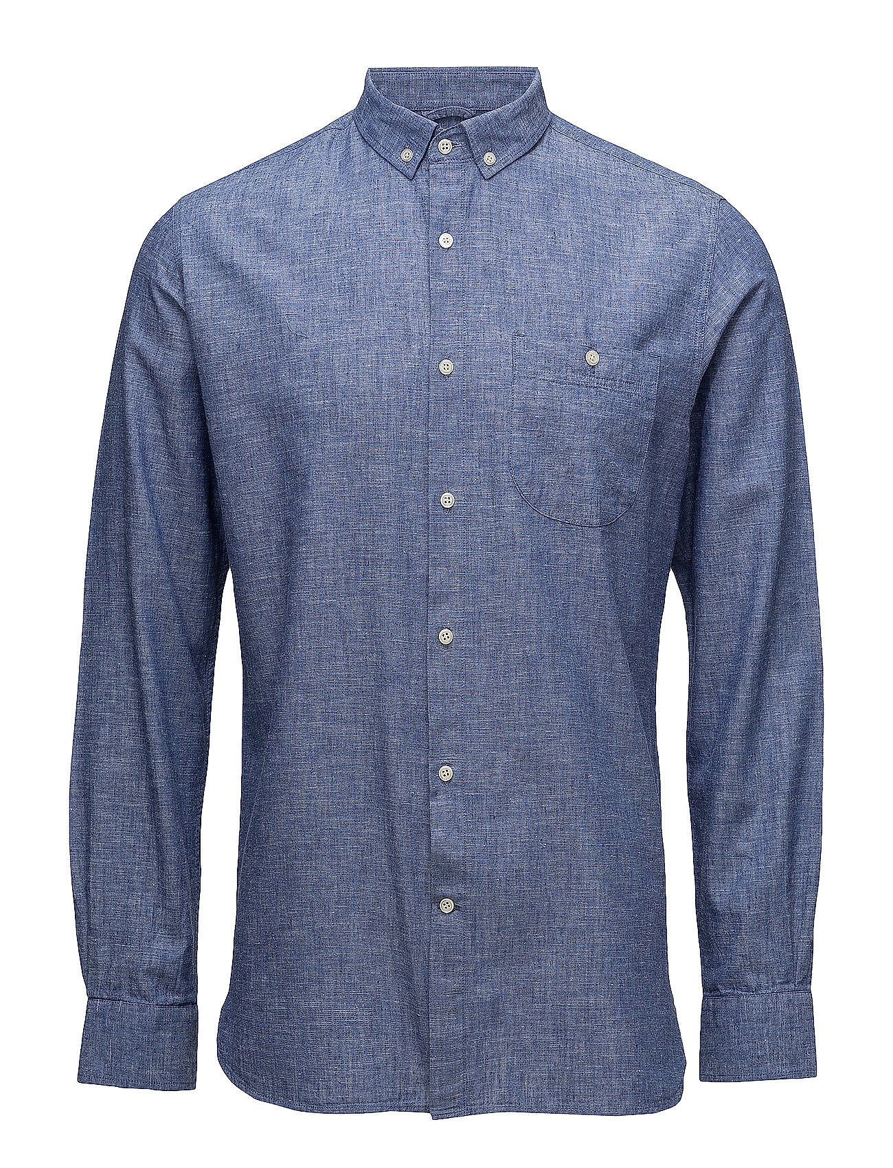 cotton linen shirt gots strong blue knowledge cotton apparel. Black Bedroom Furniture Sets. Home Design Ideas