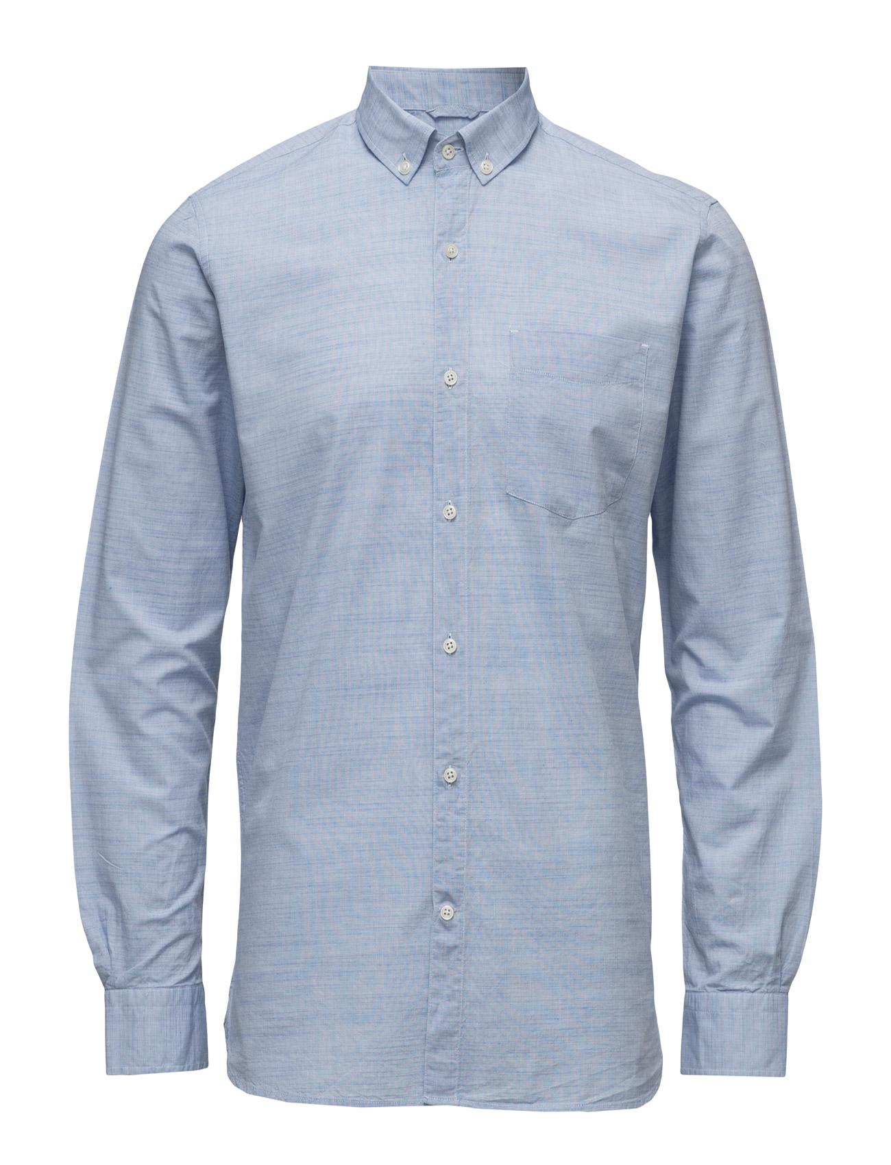 Light Oxford Shirt - Gots Knowledge Cotton Apparel Casual sko til Herrer i