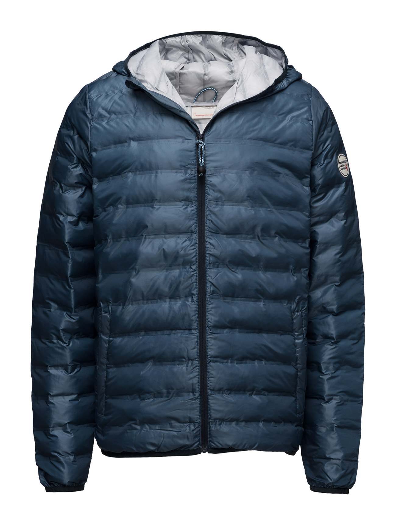 Polyester Jacket W/Polyester Fillin Knowledge Cotton Apparel Jakker til Herrer i Total Eclipse