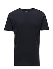 Basic Regular Fit O-Neck Tee GOTS - TOTAL ECLIPSE