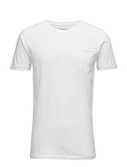Basic Tee With Chest Pocket GOTS - Bright White