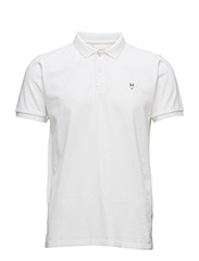 Pique Polo -  GOTS - BRIGHT WHITE