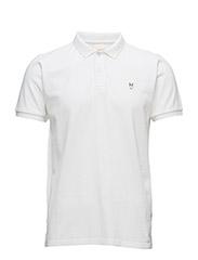 Pique Polo - Bright White
