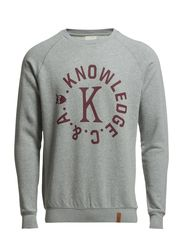 College Sweatshirt - Grey Melange
