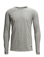 Light Melange Sweatshirt - Grey Melange