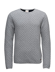 Quited Sweat - GREY MELANGE