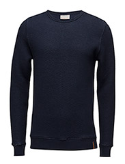 Diagonal Quilted Sweat Shirt - OCS - TOTAL ECLIPSE