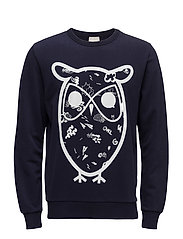 Sweat Shirt W/Big Concept Owl - GOT - PEACOAT