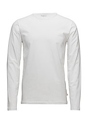 Round neck long sleeve  - GOTS - BRIGHT WHITE