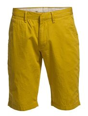 Twisted Twill Shorts - Lemon Curry