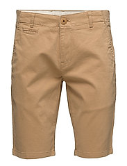 Stretch Chino Shorts - GOTS - DESSERT SAND