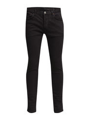 Organic Denim Slim Fit Pants - Phantom