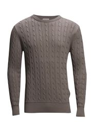 Cable Knit - GREIGE