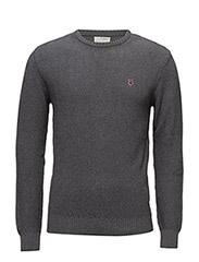 Basic Knit - DARK GREY MELANGE