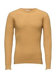 Cotton/Cashmere Cable Knit - GOTS - ARRONWWOOD