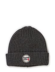 Patent Knit Hat - Grey Melange