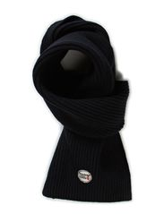 Jacquard Knit Scarf - Total Eclipse