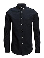 Button Down Oxford Shirt - GOTS - Total Eclipse