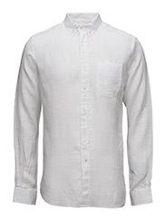 Linen Shirt GOTS - Bright White
