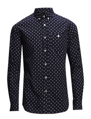 Printed Owl Shirt - Total eclipse