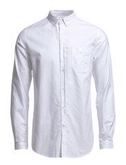 Button Down Oxford Shirt - Bright White