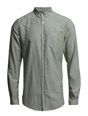 Button Down Oxford Shirt - Dusty Green