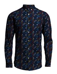 Paisley Printed Shirt - Total Eclipse