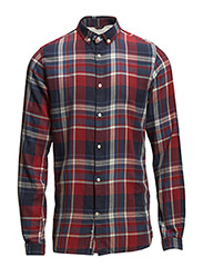 Checked Shirt - GOTS - Rosewood