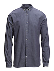 Heavy Weaved Shirt - GOTS - Total Eclipse