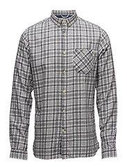 Small Checked Flannel Shirt - GOTS - WINTER WHITE