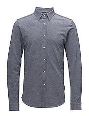 2-Toned Pique Shirt - GOTS - LIMOGES