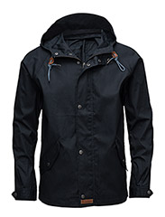 Waxed Canvas Light Jacket - Total Eclipse