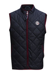 Quilted Vest - Total Eclipse