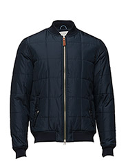 Quilted Bomber Jacket - GRS - TOTAL ECLIPSE
